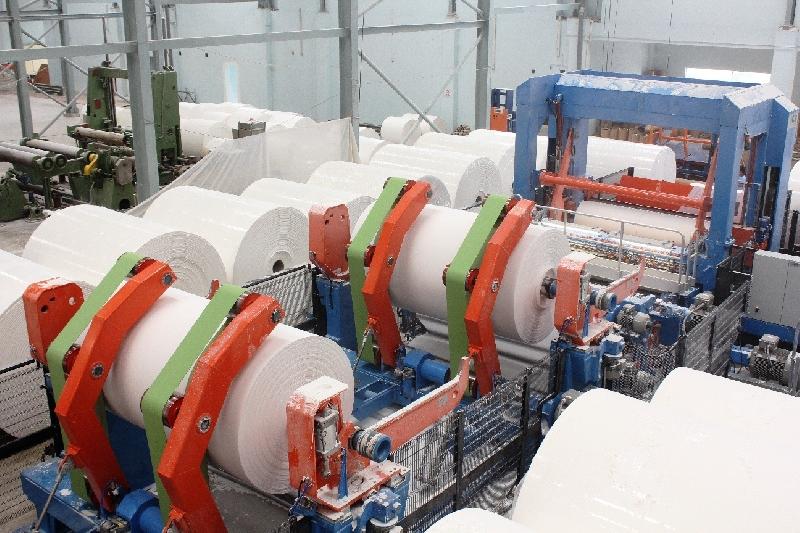 Ngành giấy phát triển xanh từ máy biến tần