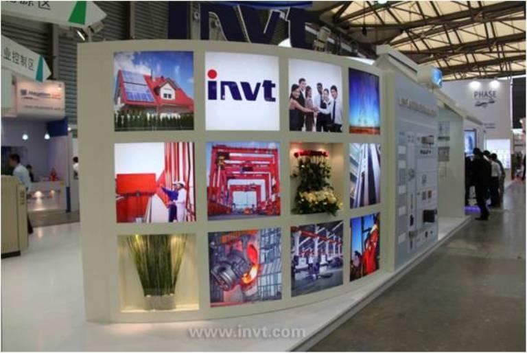 Triển lãm máy biến tần INVT tại Ấn Độ